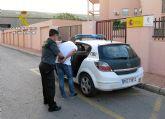 La Guardia Civil detiene a dos de los presuntos autores de un violento robo cometido en San Pedro del Pinatar