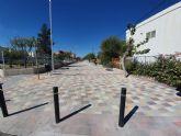 El Ayuntamiento de Molina de Segura finaliza las obras de peatonalización de la Calle Serreta y los trabajos de impermeabilización del pabellón infantil del CEIP La Purísima en la pedanía de El Llano