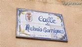 Un ciclista ha resultado herido en un accidente ocurrido en la Calle Antonio Garrigues de Totana