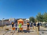 El equipo COVID del SMS comienza en el barrio de San José las visitas a diferentes puntos del casco urbano