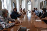 El Ayuntamiento anuncia a los vecinos del Barrio de la Concepción que en un mes se abrirá al tráfico la calle Peronino