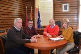 El director general de Administración Local visita Campos del Río para reunirse con su alcaldesa