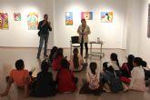 Tercero de Primaria del CEIP Los Antolinos visita la Casa de Cultura