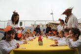 Los niños de Puerto Lumbreras celebran el 'Día de la Castañada'