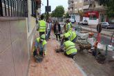 El Ayuntamiento acondiciona más de cuatro kilómetros de aceras en una veintena de calles