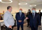 El alcalde y el delegado del Gobierno visitan el nuevo CAISS de Cieza en el que el Gobierno central ha invertido 367.000 euros