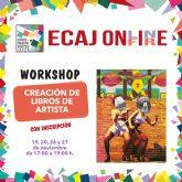 La Concejalía de Juventud de Molina de Segura inicia el jueves 19 de noviembre la formación Workshop: Creación de libros de artista