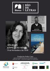 Comienza el ciclo literario ´Río de Letras´ con Ángeles González-Sinde