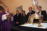 La Santa Espina de Mula se exhibe ya en el Real Monasterio de la Encarnación de Mula