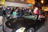 Papa Noel recibe a los niños pinatarenses en el Poblado de Navidad
