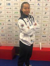 Nuevo éxito de la murciana Irene Yao Alcaraz Carrión en competición internacional