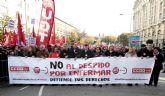 Ganar Totana exige la derogación inmediata del artículo 52d del Estatuto de los Trabajadores de la ley 3/2012 de 6 de julio