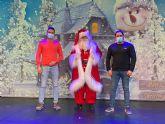 Los colegios de Puerto Lumbreras se preparan para recibir la visita virtual de Papá Noel este jueves y viernes