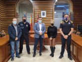Campos del Río recibirá el próximo año casi 90.000 euros del Programa de ayudas a policías locales de la Comunidad