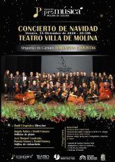 La Orquesta de Cámara Hims Mola y solistas de Molina de Segura ofrecen un CONCIERTO DE NAVIDAD en el Teatro Villa de Molina el viernes 18 de diciembre