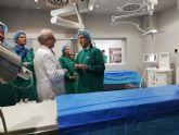 El consejero de Salud asiste a la inauguración de una nueva unidad del Hospital de Molina