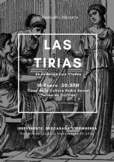 La comedia púnico-romana 'Las Tirias' abrirá el trimestre cultural