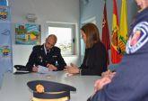 Toma de posesión del nuevo agente de la policía local de Archena, José Tomás López Bernal