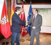 El presidente del Gobierno Regional se reúne con el alcalde de Alcantarilla