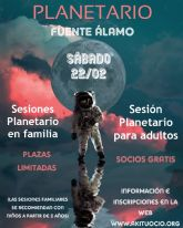 Fuente Álamo brindará la experiencia de conocer un planetario dentro de su programación cultural