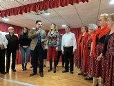 El alcalde felicitó a los usuarios del Centro de Día de Personas Mayores de San Javier en su 35 aniversario