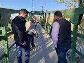 Una moción de UxA en el próximo pleno reclamará un puente nuevo para El Paraje