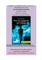 """El escritor yeclano Juan Gil Palao presentará su libro """"Por un paquete de Celtas"""" en Alguazas"""