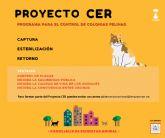 Bienestar Animal y APROAMA inician el control de las colonias felinas del municipio con el 'Proyecto CER'