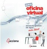 Acciona pone en marcha su nueva oficina virtual para la gestión del servicio municipal de aguas de Ricote