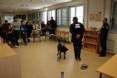 La labor de la nueva unidad canina de la Policía Local torreña empieza a dar frutos