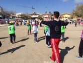 Más de 550 alumnos de 5° de Educación Primaria y 1º de la ESO de todos los colegios de Totana participan en la Jornada de Juegos Populares