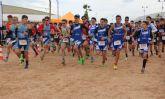 Más de 340 escolares participan en la final regional de Duatlón en San Pedro del Pinatar