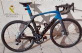 La Guardia Civil esclarece en unas horas la sustracci�n de una bicicleta de gama alta en Mazarr�n
