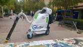 Aguas de Cieza incorpora el carrito eléctrico manual para sustiituir a los tradicionales de berrendero
