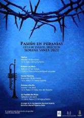 Las pedanías mulenas acogen un Ciclo de Ensayos Didácticos bajo el título de 'Pasión en Pedanías. Semana Santa 2021'
