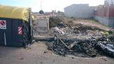 El Ayuntamiento torreño apela al civismo y solicita la la ayuda ciudadana para frenar la quema de contenedores en el municipio