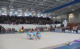 Campeonato de Gimnasia Rítmica en el Centro Deportivo de Puerto Lumbreras