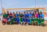 El Melistar de Melilla se lleva el I campeonato de fútbol playa organizado por el CD Playas de Mazarrón