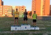 Ismael Belhaki y Miriam S�nchez suman medallas en Cartagena para Club Atletismo Mazarr�n