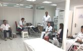 Los trabajadores de ElPozo Alimentaci�n se vuelcan en la donaci�n de sangre