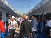 La IX Feria Outlet de Santiago de la Ribera cierra con un aumento de ventas