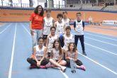 Los atletas del Club Atletismo Alhama contribuyen al �xito de la selecci�n murciana