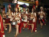 Los 'Armaos' y 'Manolas', por su incremento de integrantes, protagonistas del primero de los desfiles procesionales de Archena