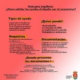 Guía para inquilinos: ¿cómo solicitar las ayudas al alquiler por el coronavirus?