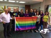 El Ayuntamiento de Molina de Segura se suma al llamamiento para continuar la lucha contra toda discriminación basada en la orientación sexual y la identidad de género