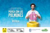 Las Torres de Cotillas reactiva la campaña 'Piensa con los pulmones' el Día Mundial del Reciclaje