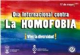 El Ayuntamiento de Totana conmemora hoy el D�a Internacional contra la Homofobia, con la organizaci�n de talleres de sensibilizaci�n