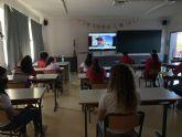 'Viajando en el aula' visita Atenas
