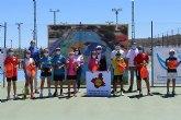 Gran participación y buen ambiente en el Campeonato Regional Alevín de Tenis