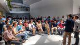 Los emprendedores protagonistas esta mañana en Torre-Pacheco